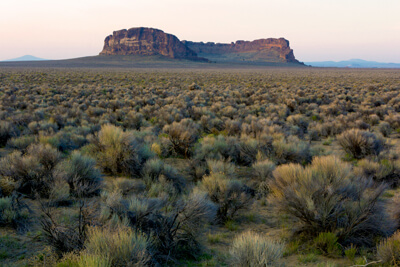 Fort Rock in Oregon's high desert
