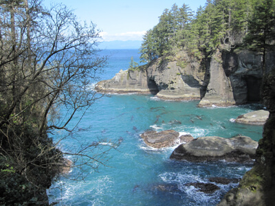 The Washington Pacific Coast at Neah Bay